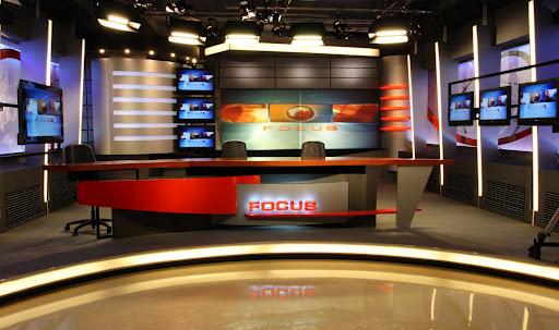 PRIMA TV NEWSROOM   INTERIOR DESIGN